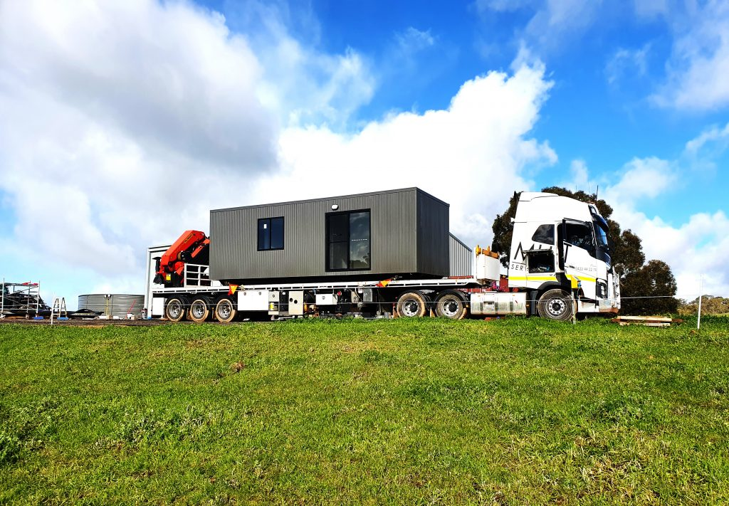 On Truck portable building outback portable adelaide